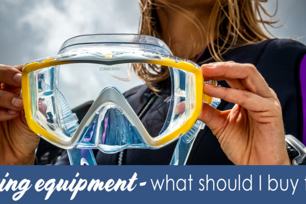 Diving equipment - what should I buy first EN