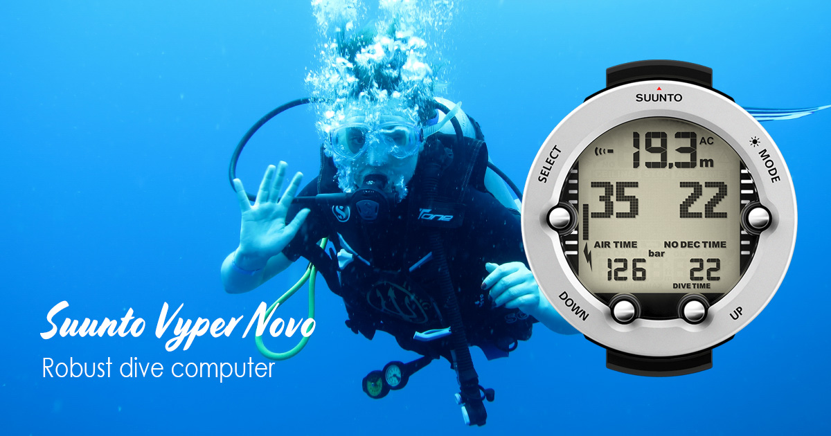 Suunto Vyper Novo – Dive to the next level