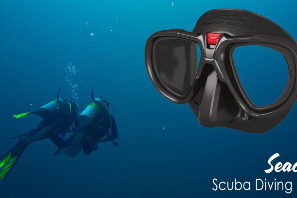 Seac Fox Scuba Diving Mask